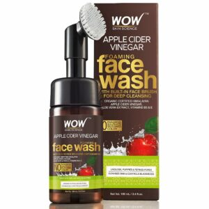 WOW Organic Apple Cider Vinegar Foaming Facewash