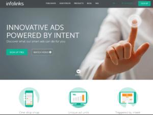 info links google adsense alternatives