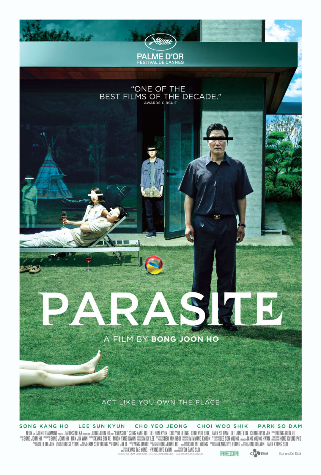 parasite best thriller movie