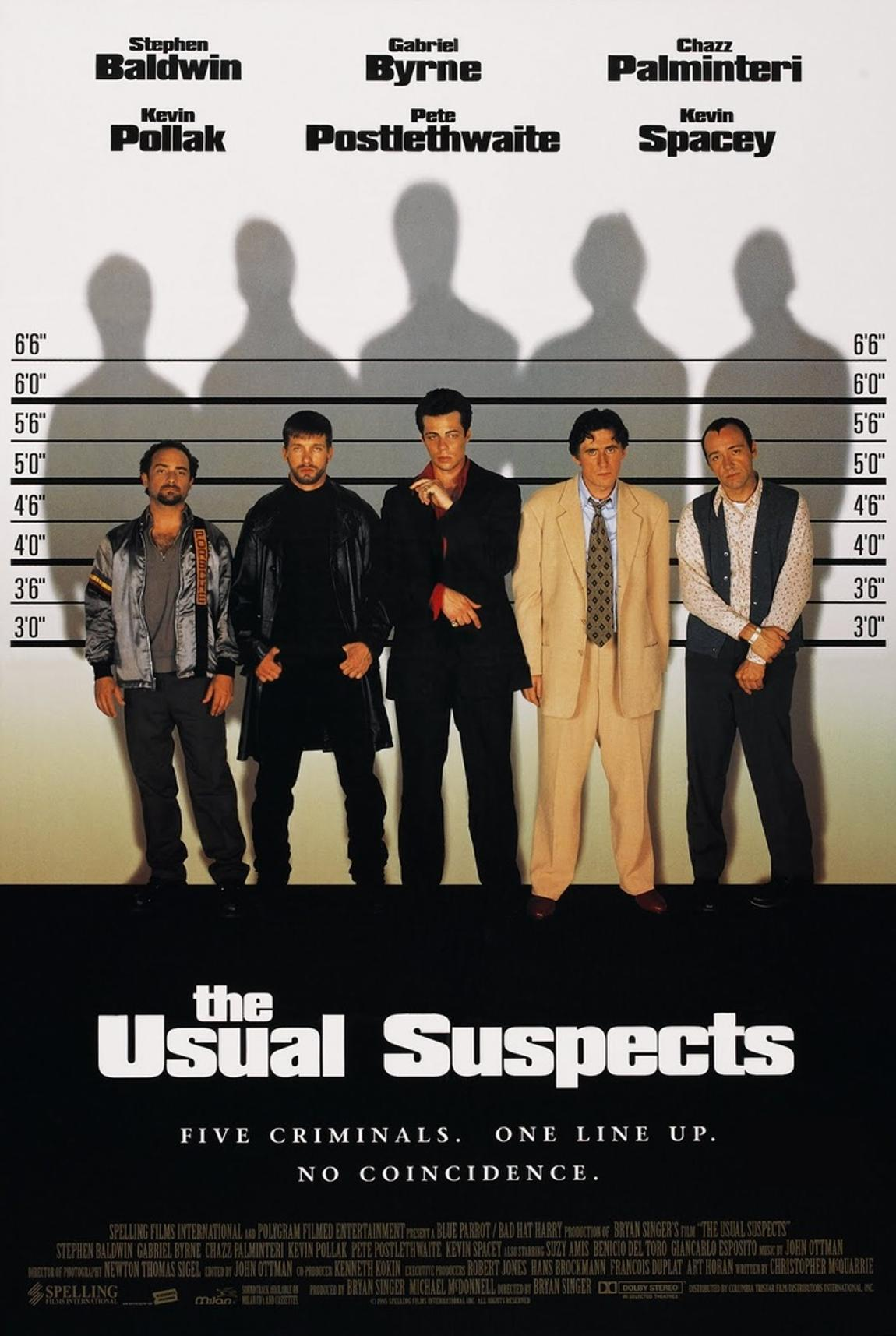 The Usual Suspects best thriller movies