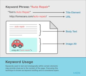 on-page seo MOZ