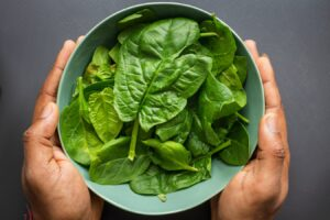 spinach immune boosting food