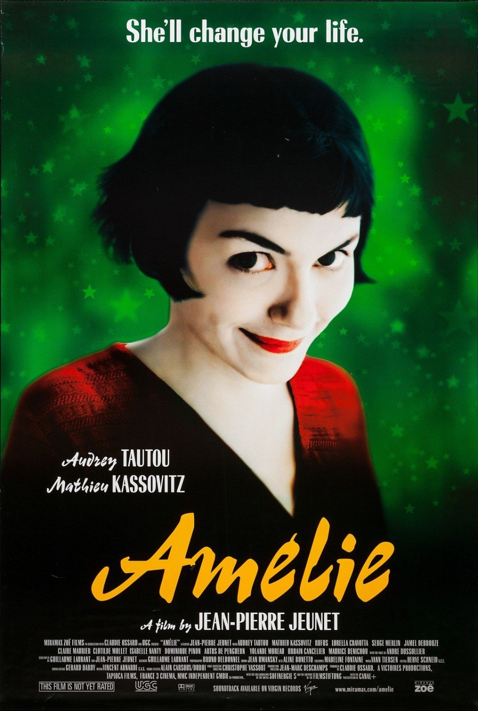 Amélie best romantic movies