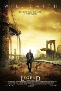 Iam legend post apocalyptic movie