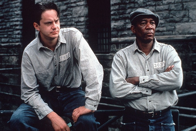 the shawshank redemption best inspirational movies