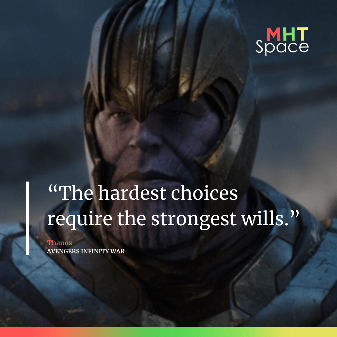 Avengers Infinity War Powerful Movie Quotes