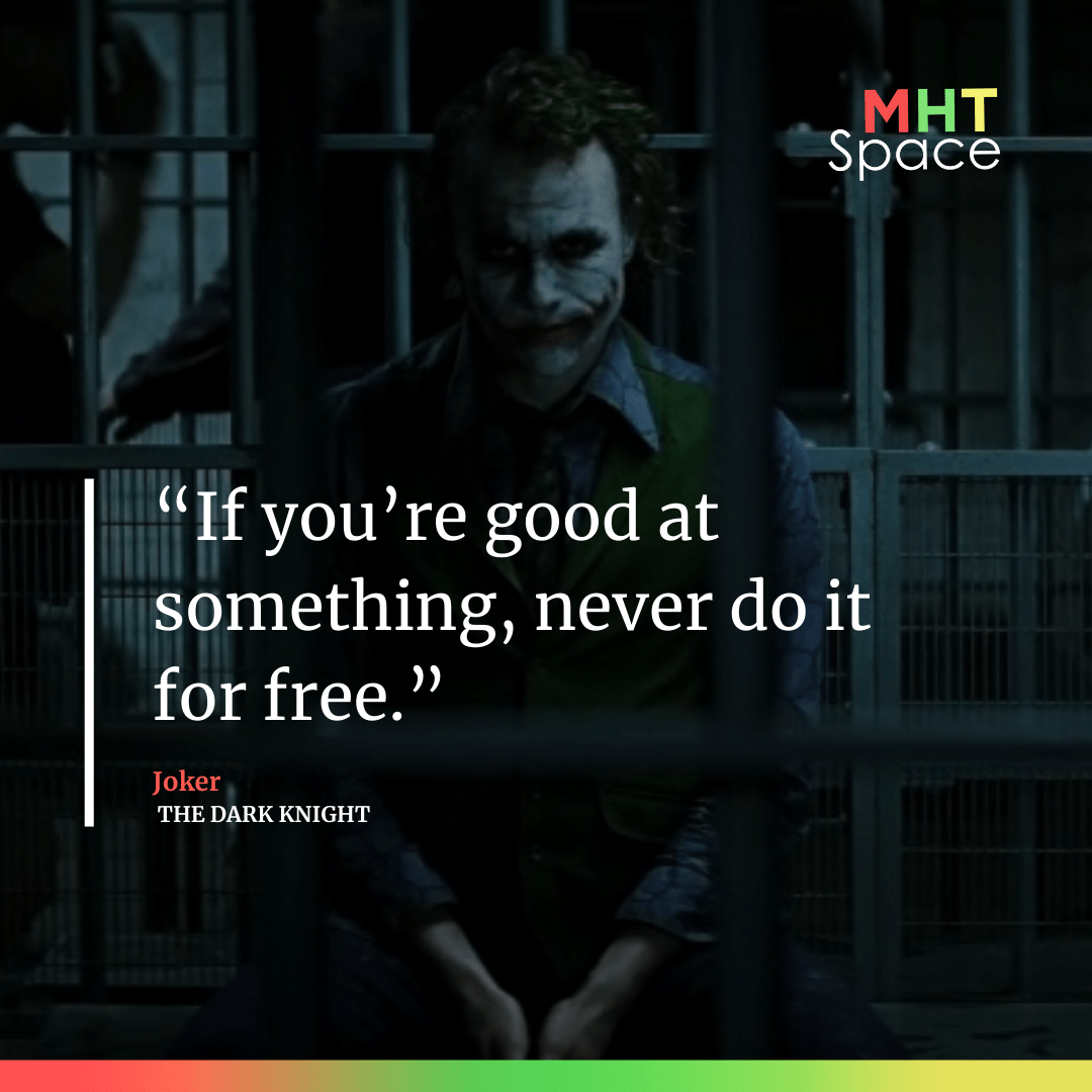 Dark Knight Powerful Movie Quotes