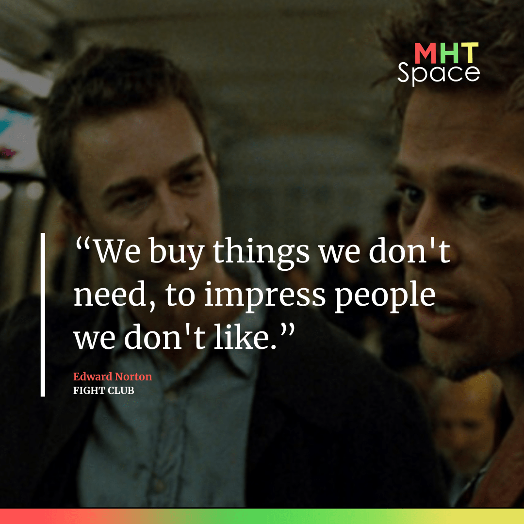 Fight Club Powerful Movie Quotes