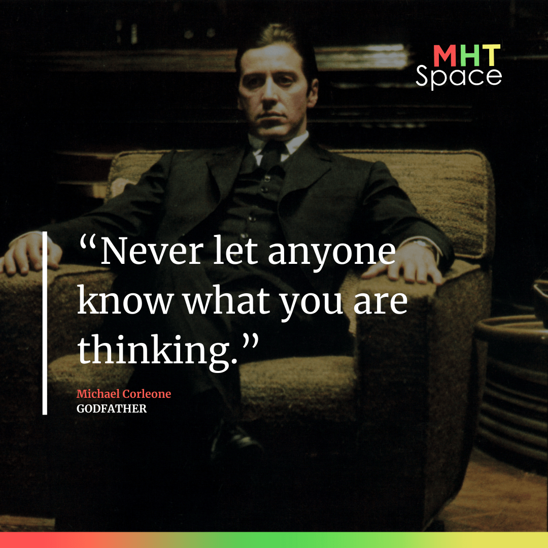 Godfather Powerful Movie Quote 1