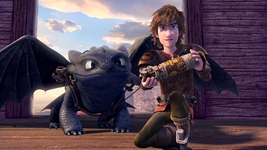 How to train dragon series best animated movies