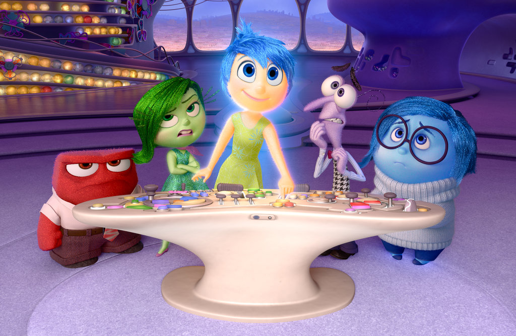 Inside out best animated movies