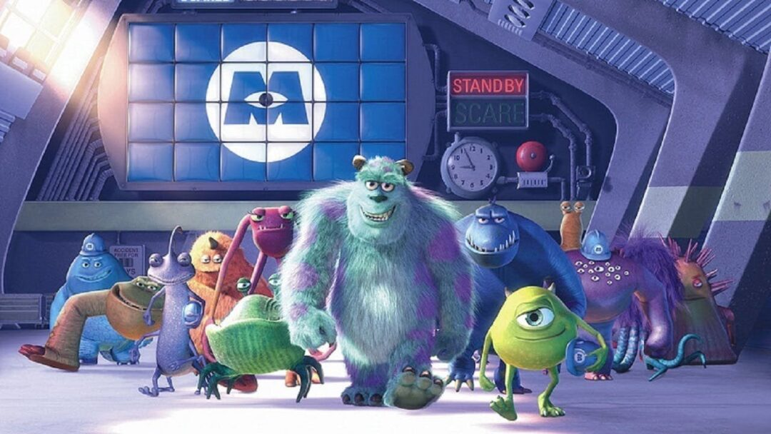 Monster Inc best animated movies