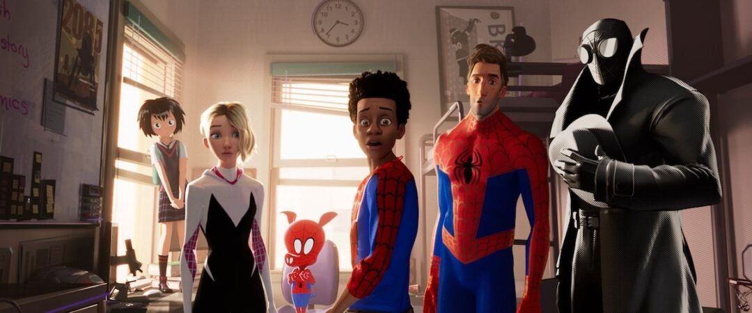 Spider-Man Into The Spider-Verse best animated movies