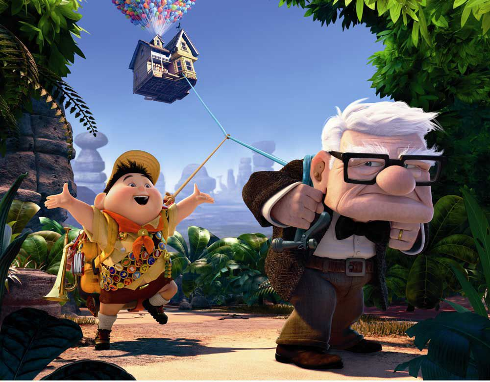 Up best animated movies