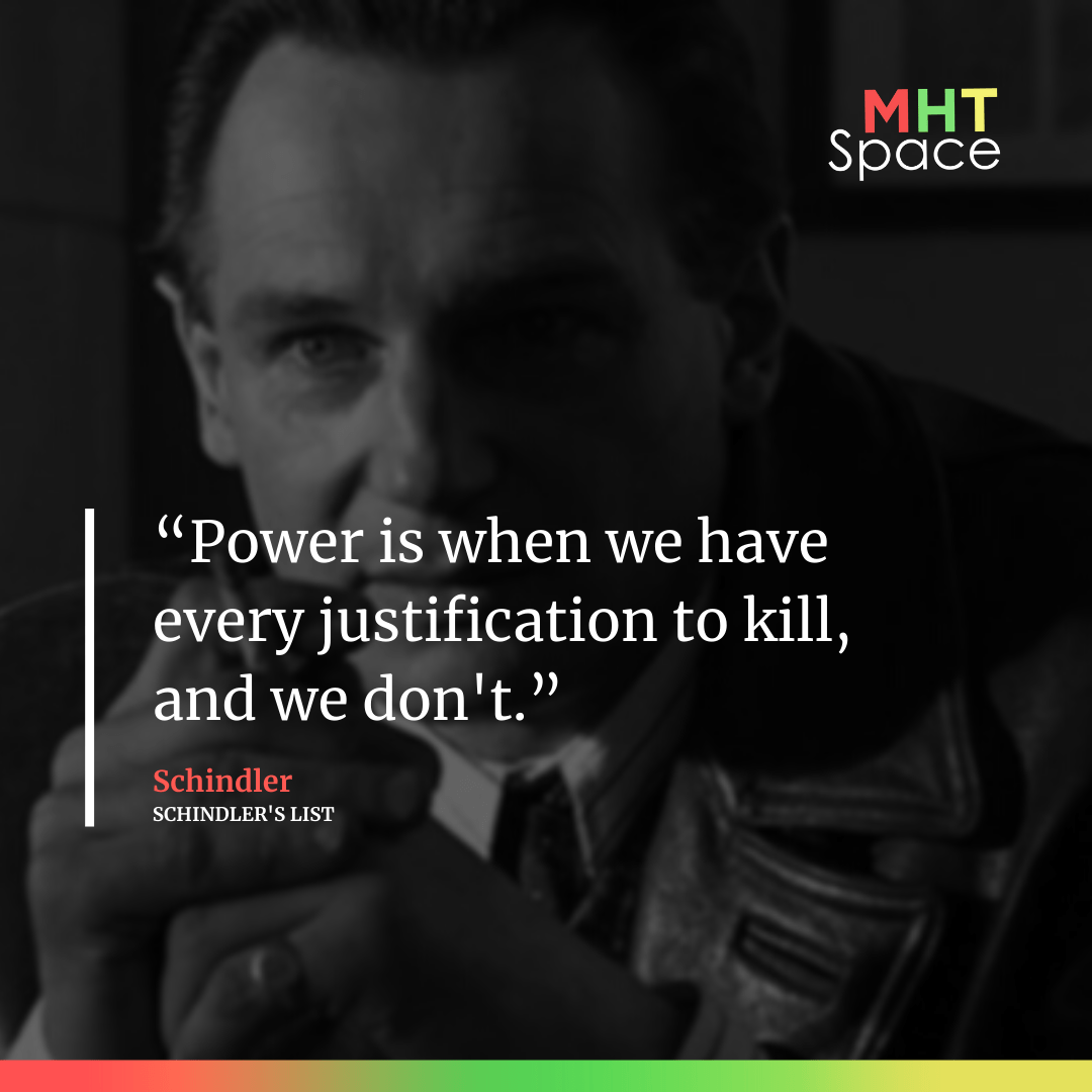 schindler's list Powerful Movie Quotes