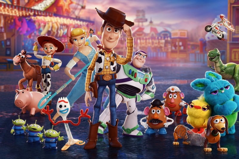 toy story best animated movies