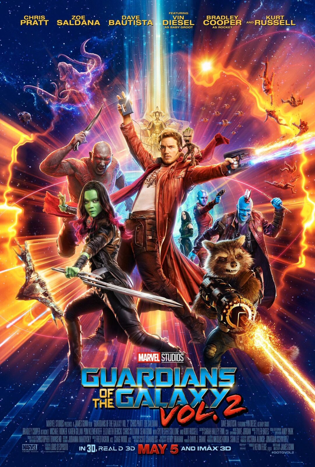 guardians of the galaxy vol 2 marvel marathon order