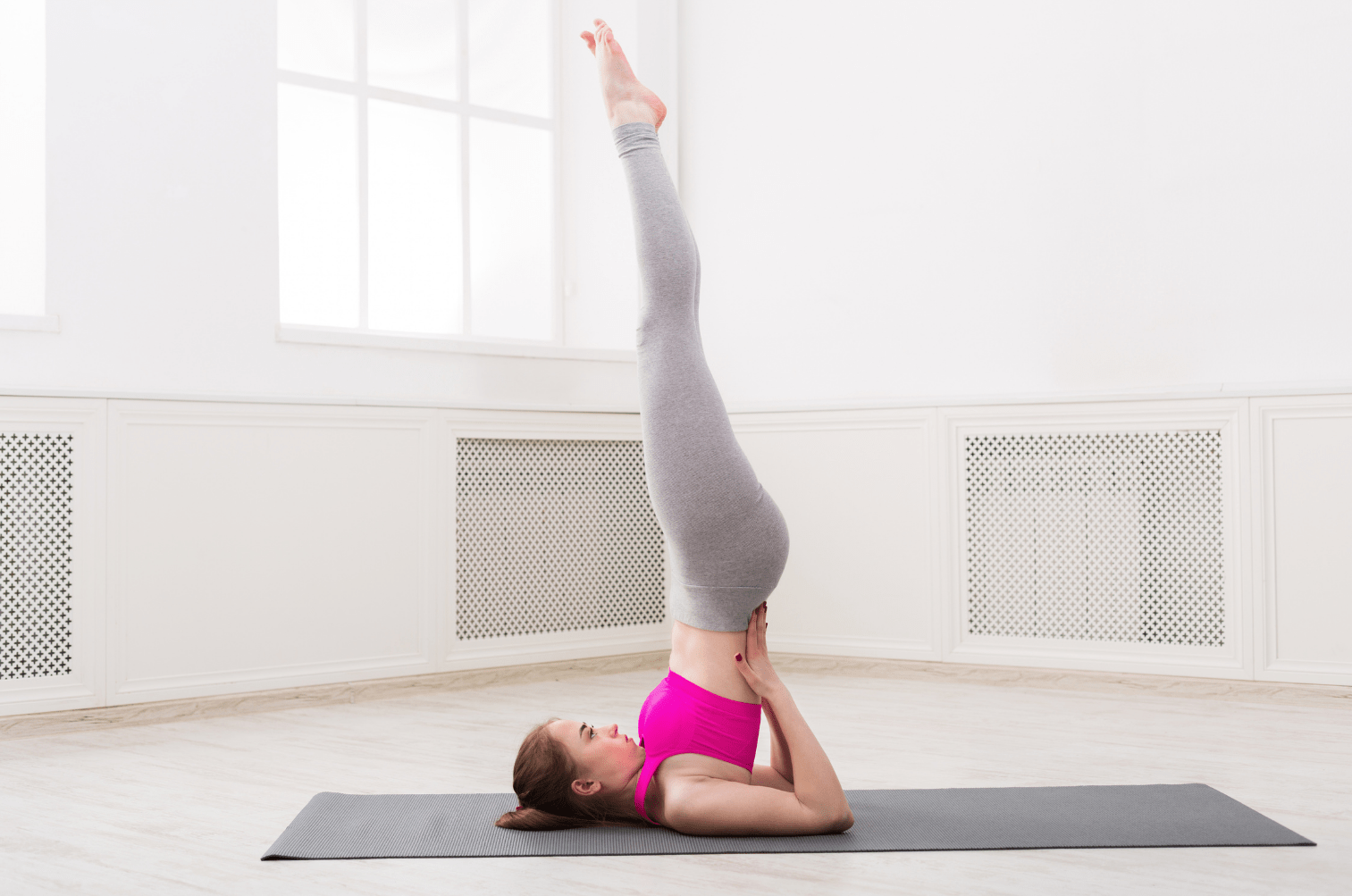 Shoulder Stand Pose How To Get Glowing Skin In 2 Weeks Naturally