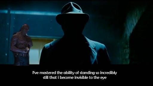 man in the shadows spider man trivia quiz