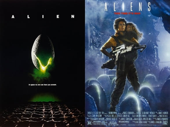 alien and aliens Scariest movies to watch on Halloween