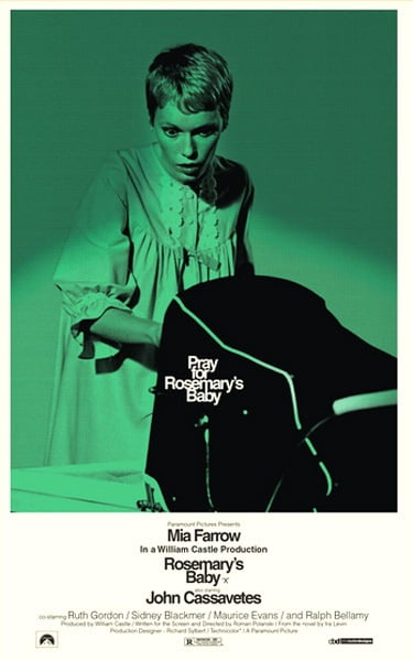 rosemary's baby Scariest movies to watch on Halloween