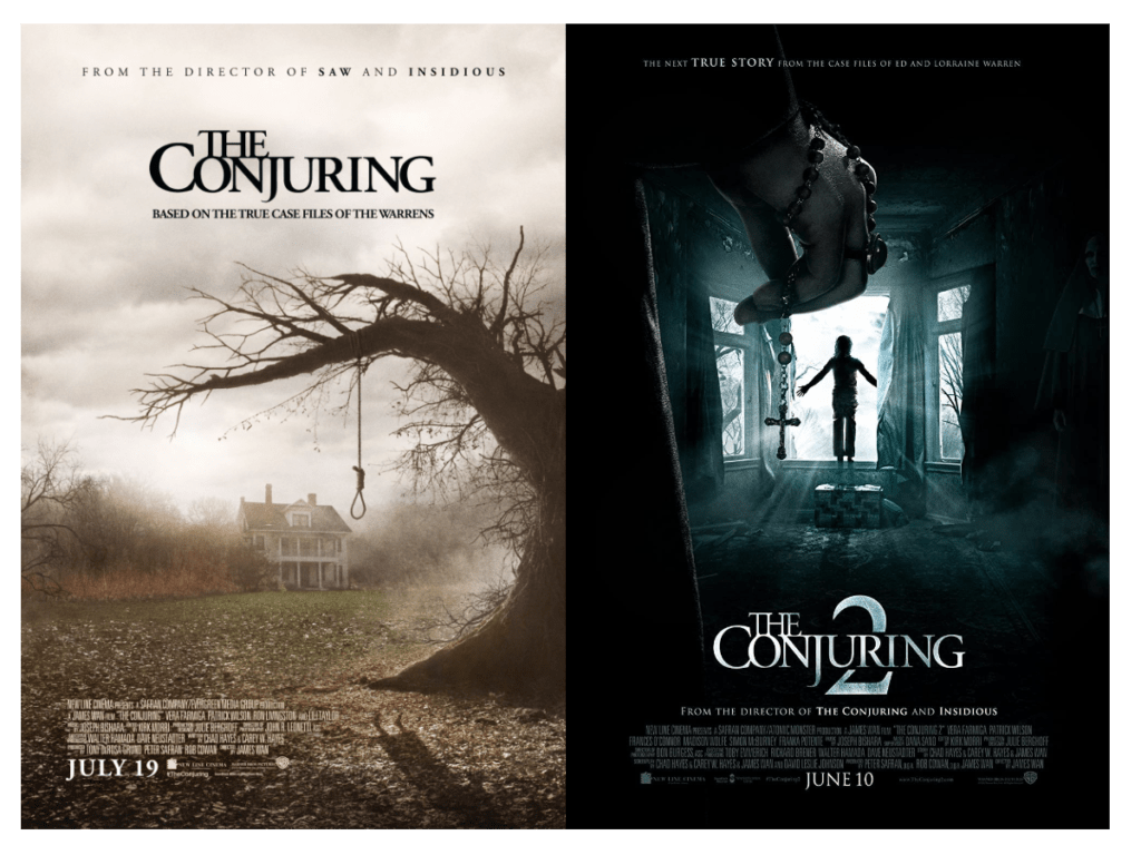 the conjuring Scariest movies to watch on Halloween