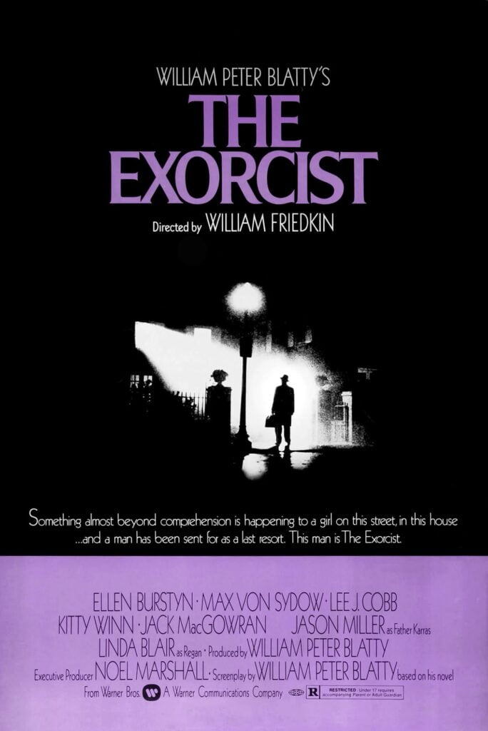 the exorcist Scariest movies to watch on Halloween