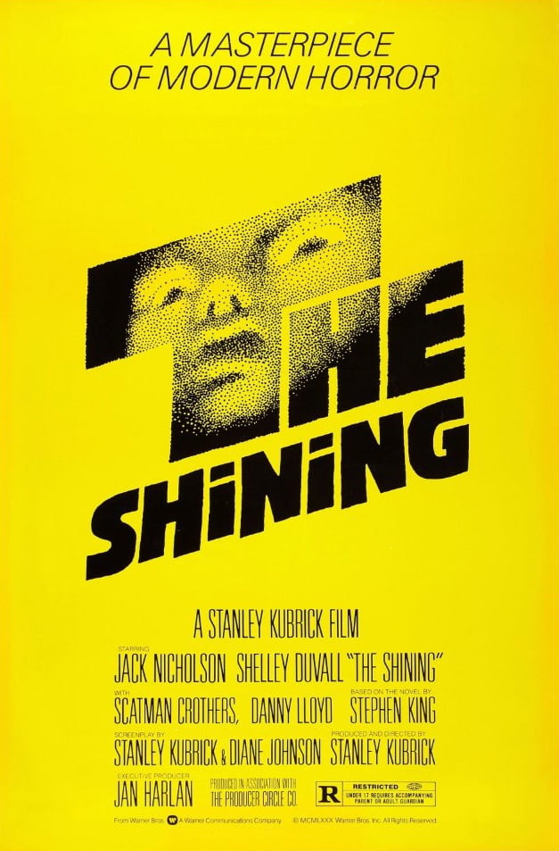 the shining Scariest movies to watch on Halloween